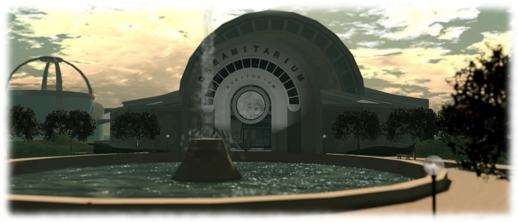 The SL12BCC Dreamitarium - venue for some great talks throughout the celebrations