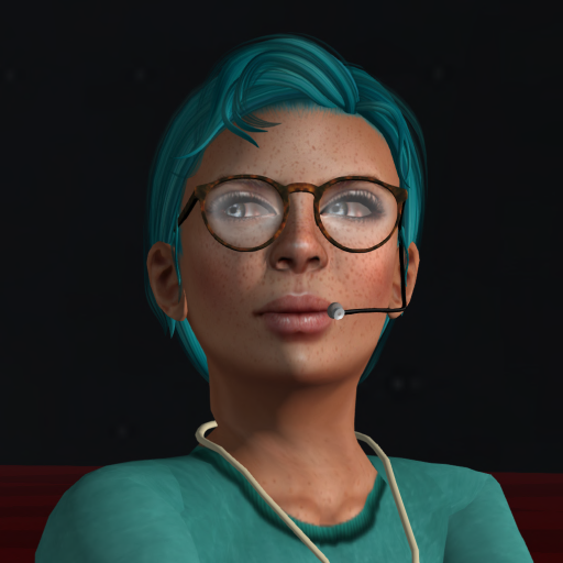 Wildstar Beaumont caught me working at the auditorium and sent this portrait to me. It was my Profile pic for the rest of the event.