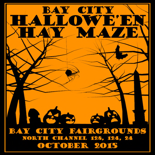 Bay City Halloween Hay Maze