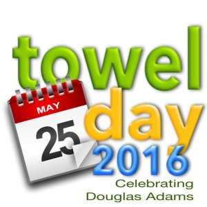 Towel Day 2016 Logo