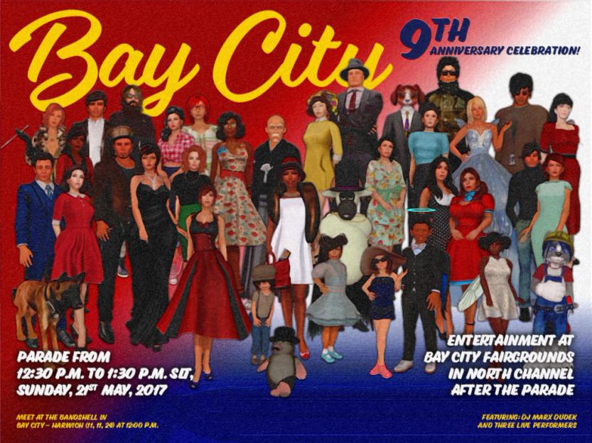 Bay City 9th Anniversary Celebration