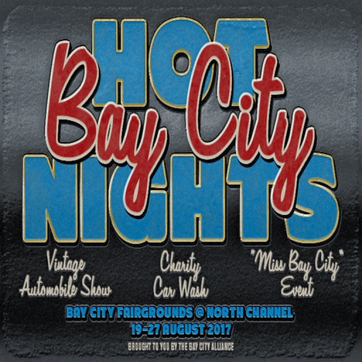 Hot Bay City Nights Poster 2017 copy