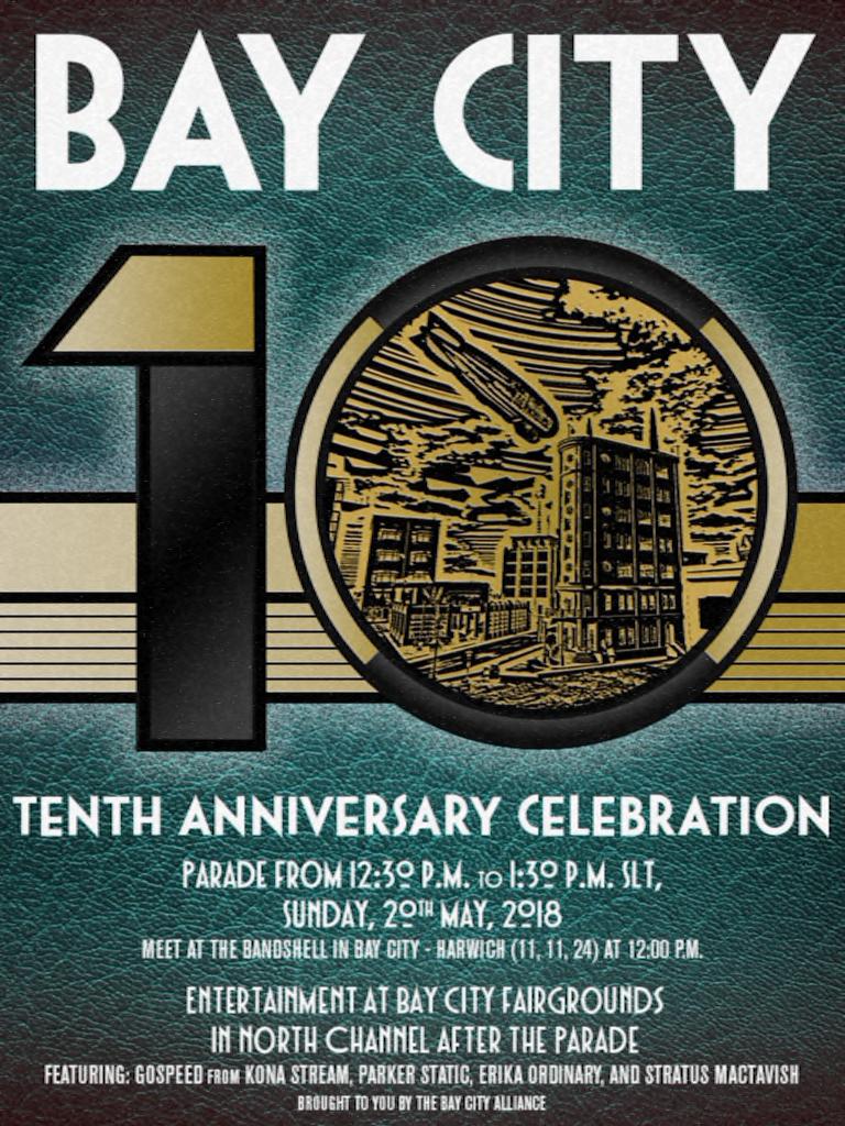 Bay City 10th Anniversary Celebration